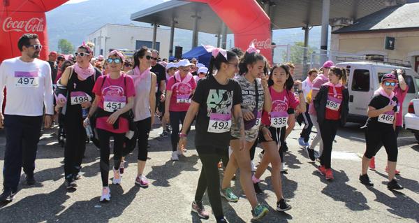 Photo of A Rúa tínguese de rosa contra o cancro de mama