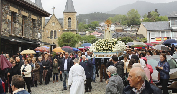 Photo of Fontei (A Rúa) pecha a Festa de Fátima coa procesión da despedida