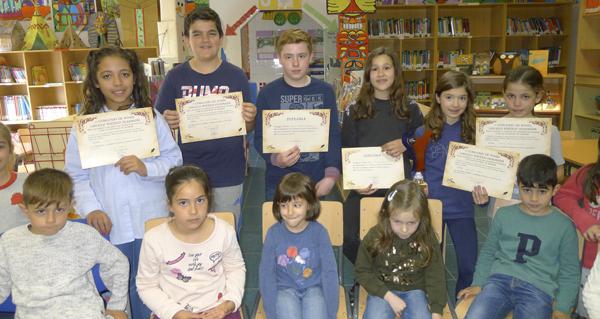 Photo of Oito finalistas do CEIP Julio Gurriarán no Concurso de Poesía do Círculo Poético Ourensán