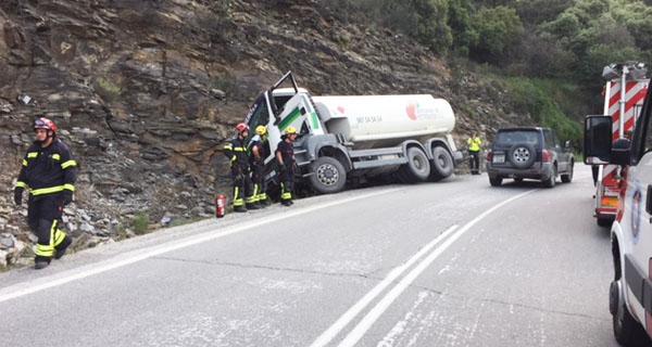 Photo of Accidente dun camión en Casaio