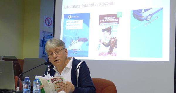 """Photo of Manuel Agra resalta """"o compromiso coa lingua galega"""" de María Victoria Moreno"""