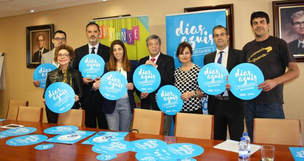 """Photo of Ponse en marcha no comercio ourensán a segunda edición da campaña """"Días Azuis"""""""