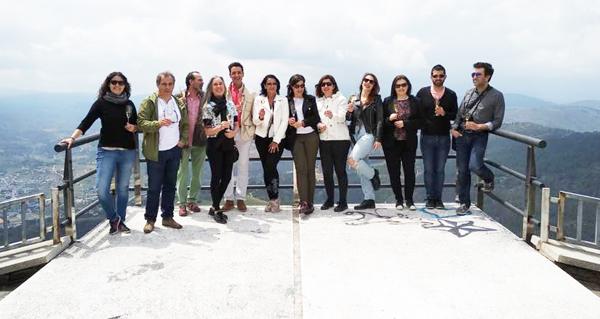 Photo of Visita de blogueiros e prensa especializada á D.O. Valdeorras
