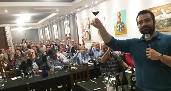 Photo of Exitosa cata de viños das I Xornadas de Valdeorras na Coruña