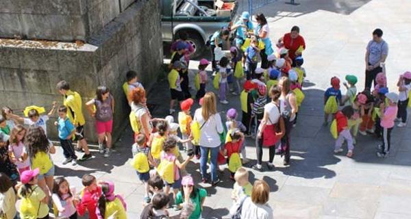 Photo of Correlingua polas rúas de Trives o 16 de maio