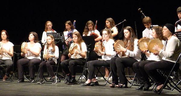 Photo of Orixinal concerto didáctico do Conservatorio e da Escola de Música do Barco para os colexios da vila
