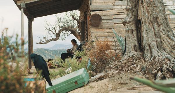 """Photo of """"Dhogs"""", cinema galego no Barco da man do seu director polas Letras Galegas"""