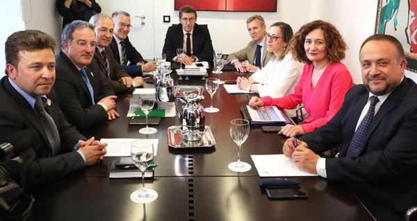 Photo of O Eixo Atlántico e a Xunta únense para defender a inclusión de Galicia no Corredor Atlántico de transporte de mercadorías