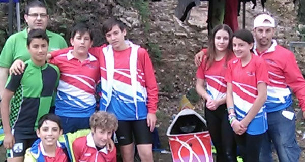 Photo of O Fluvial Barco, no campionato galego infantil de piragüismo