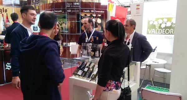 Photo of Os viños valdeorreses promociónanse na London Wine Fair