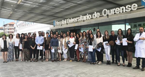 Photo of Un total de 35 residentes rematan a súa formación nas unidades docentes de Ourense