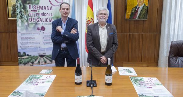 """Photo of Os retos do sector do viño ante o cambio climático, na """"II Semana Vitivinícola de Galicia"""""""