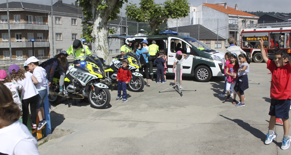 Photo of Campaña de Educación Viaria no CEIP Bibei de Viana do Bolo