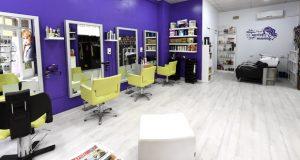 Hair Salon Susana López, novo local de Peluquería Susana, na praza Lauro Olmo do Barco
