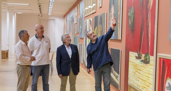 Photo of O Centro Cultural Marcos Valcárcel de Ourense acolle unha mostra de pintura