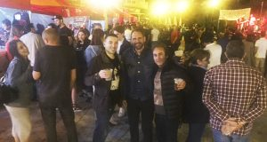 Animada primeira xornada da Festa do Casco Vello, na praza Maior do Barco