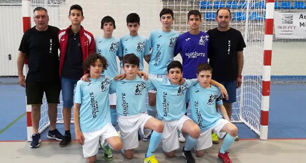 Photo of O equipo infantil de fútbol sala das EDM de Verín, campión da fase previa do campionato de España
