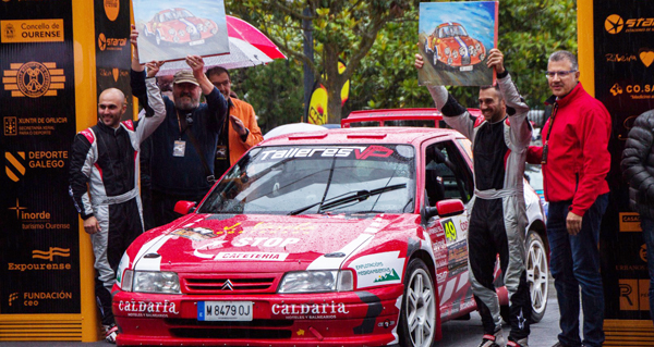 Photo of O ourensán Emilio Vázquez Pereira gana o Trofeo Estanislao Reverter do 51 Rallye de Ourense
