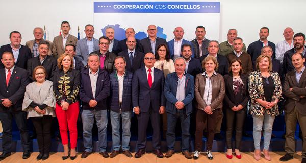 Photo of Sinatura de 48 convenios de colaboración entre a Deputación e os concellos da provincia