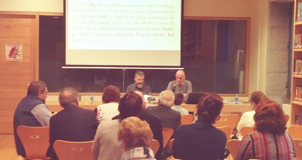 """Photo of A presentación do libro """"Eloy Luis André: erudito esquecido"""" abre o ciclo sobre este pensador na Biblioteca de Verín"""