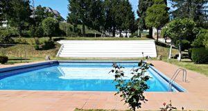 As piscinas municipais de Viana abrirán o 20 de xuño, tras a súa renovación