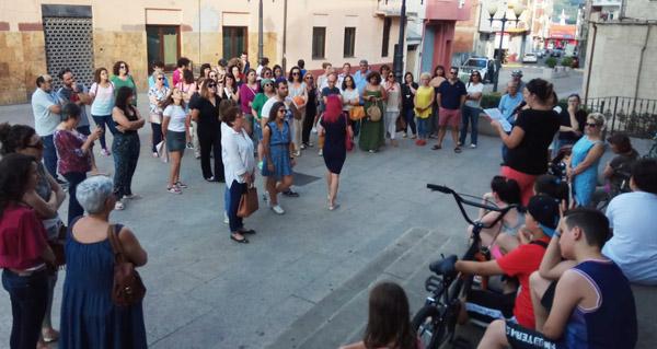"""Photo of Concentración feminista na Rúa pola posta en liberdade provisional da """"Manada"""""""