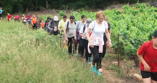 Photo of Un cento de personas, na V Andaina Solidaria da Cruz Vermella de Valdeorras