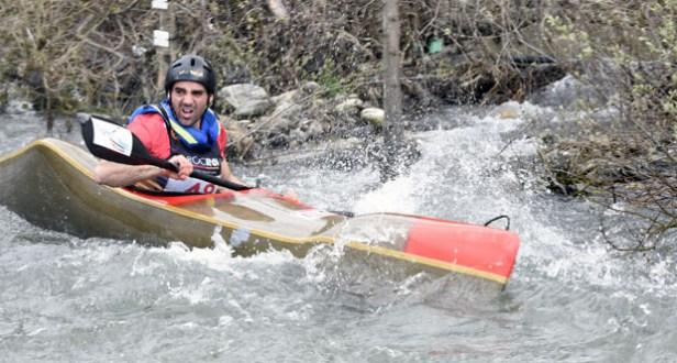 Photo of Jesús Rodríguez León, oitavo no mundial de augas bravas sprint por patrullas