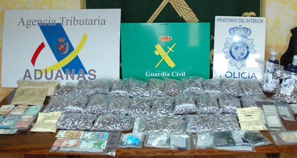 Photo of Desarticulada unha organización criminal de ámbito nacional dedicada ao tráfico de drogas con 7 puntos de venda en Ourense e Vigo