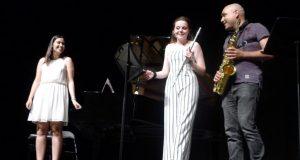 Concerto de fin de grao profesional de tres alumnos do Conservatorio do Barco