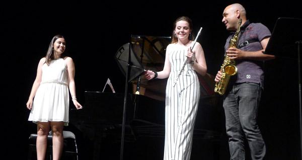 Photo of Concerto de fin de grao profesional de tres alumnos do Conservatorio do Barco