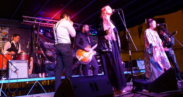 Photo of Noite a ritmo de blues, soul e rock & roll, na II Festa do Casco Vello do Barco
