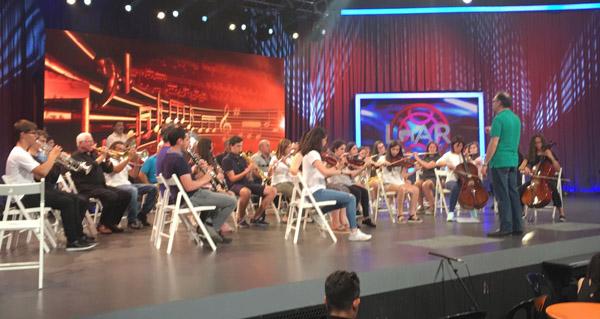 """Photo of A Banda de Música do Barco toca no """"Luar"""""""