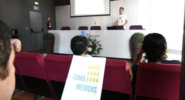 Photo of Charla informativa sobre prevención de incendios forestais no Barco