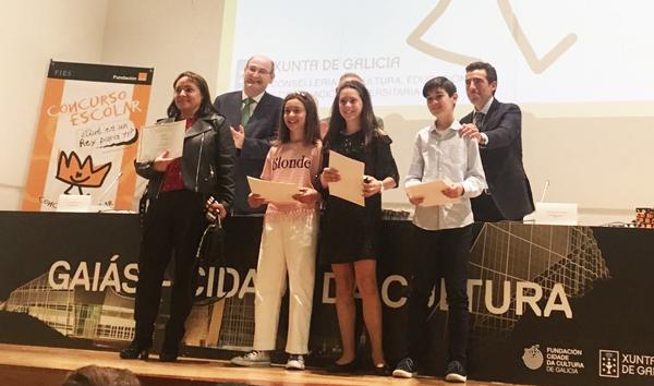 """Photo of Tres alumnos vianeses, entre os finalistas galegos do concurso """"¿Qué es un rey para ti?"""""""