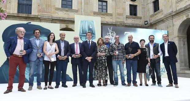 Photo of A D.O. Ribeiro entrega os seus premios 2018 no Mosteiro de San Clodio (Leiro)