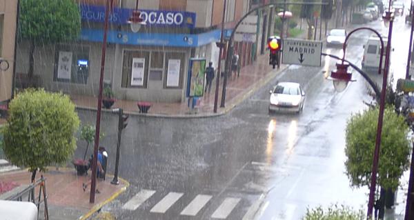 Photo of Aviso amarelo por tormentas en Valdeorras o 28 de xuño