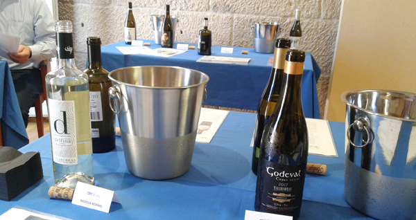 Photo of Media ducia de adegas valdeorresas, no túnel do viño para importadores americanos na CEO