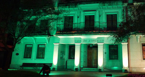 Photo of A fachada do Concello do Barco iluminarase de verde no Día Mundial da ELA