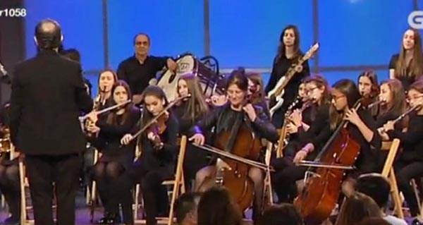 """Photo of A Banda de Música do Barco volve ao escenario do programa """"Luar"""""""
