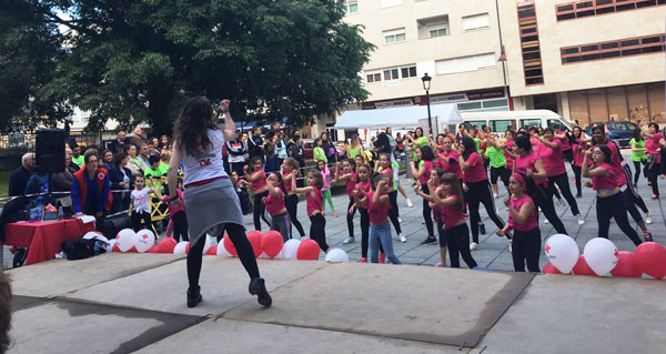 Photo of Zumba solidaria a favor da Cruz Vermella no Barco