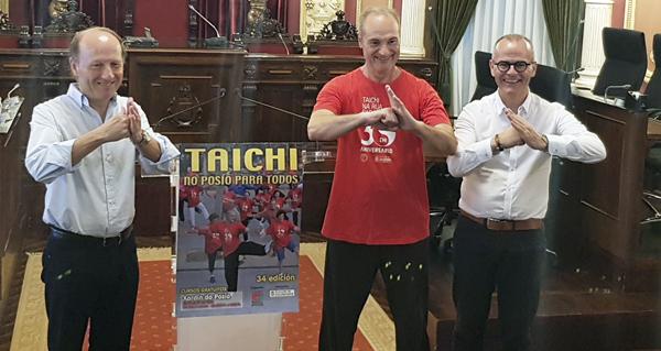 Photo of Sesións de Taichi do 16 ao 27 de xullo no Xardín do Posío, en Ourense