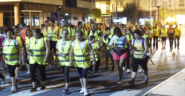 Photo of Un cento de persoas participan na andaina Os Mouchos, no Barco