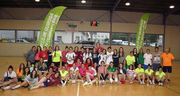 """Photo of Récord de participación e gran nivel no III Torneo Futsal Feminino """"Val de Quiroga"""""""
