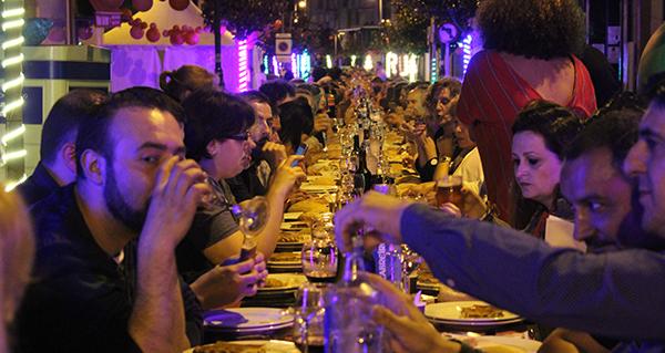 Photo of Preto de 500 persoas na cea do Carnavrao de San Cristóbal, na Rúa