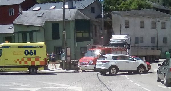 Photo of Accidente de tráfico no cruce de Sobradelo