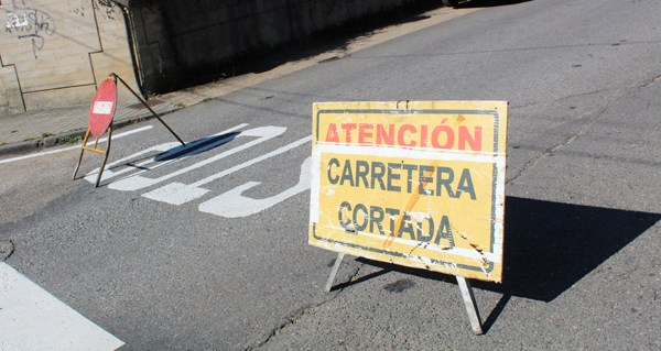 Photo of As obras da OU-602 na Rúa obrigarán a desviar o tráfico os días 23 e 24 de xullo