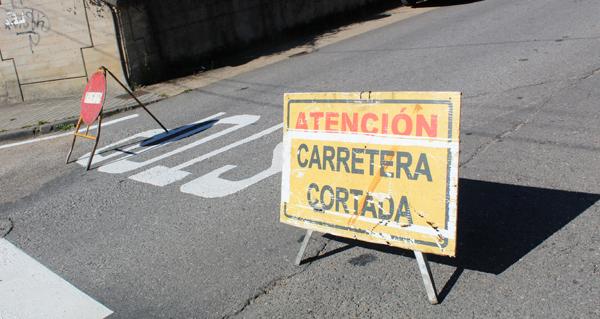 Photo of Cortes nalgúns puntos da vila ruesa polas obras de reforzo de firme na estrada OU-602