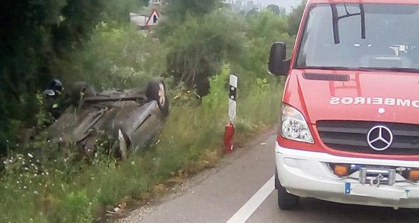 Photo of Unha persoa resulta ferida nun accidente de tráfico no Barco