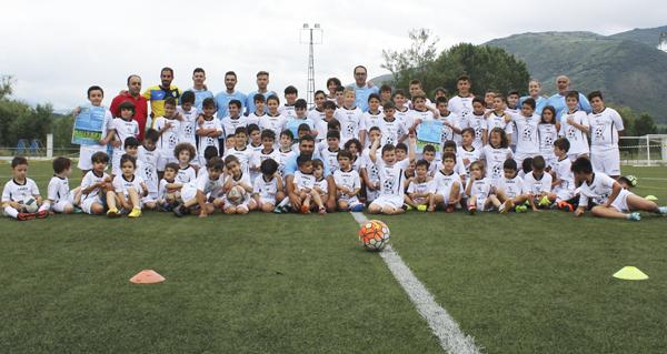 Photo of Alta participación no II campus de verán da Rúa